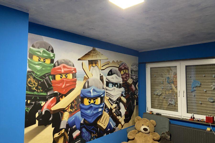Wandgestaltung Kinderzimmer